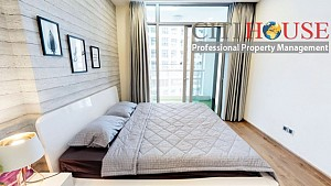 Beautiful three bedrooms apartment for rent in Vinhomes Central Park