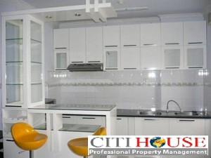 Central Garden Apartment for Rent in District 1, 2 beds, Open Kitchen, $650