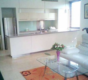 City Garden 2 bedrooms for rent in Binh Thanh Dist, panoramic view, $1100