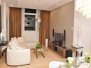 City Garden 2 beds for rent in Binh Thanh Dist, fully furnished, panoramic view, $1350