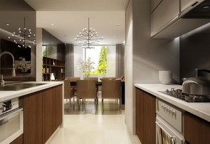 City Garden Apartment for Rent,3 beds, Fully furnished, Brand new, $1550