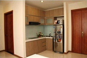 City Garden apartment for rent, 2 beds, fully furnished, nice view, $1150