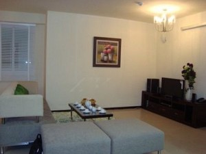 City Garden apartment for lease, 3 beds, fully furnished, brand new, $1350