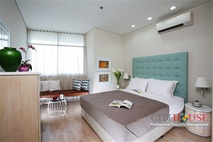 City Garden apartment for rent in Binh Thanh, 2 beds with panoramic view, $1250