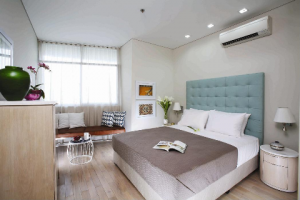 City Garden for Rent in Binh Thanh Dist, High floor, Modern design, $1350