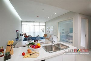 City Garden for lease 2 beds, Panoramic view, high floor, $1400