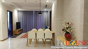 Cozy and affordable three bedrooms apartment for rent in Landmark 2 Tower in Vinhomes Central Park