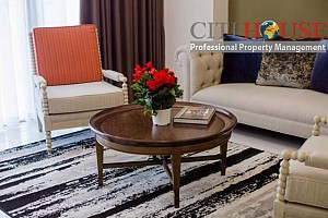 Elegant 4 bedrooms apartment for rent in The Park 2, Vinhomes Central Park