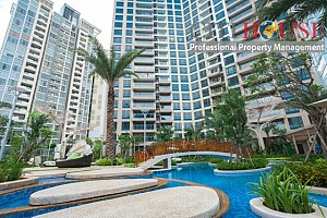 Estella Heights for rent, Modern living area, 2beds, $1000