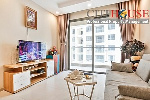 Gold View apartment for rent in Ben Van Don, District 4, brand new fully furnished two bedrooms