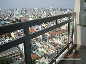 Horizon Apartment for Rent, District 1, 2 beds, Nice Riverview, $800