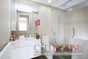 Hung Vuong Plaza Apartment for Rent in District 5, 3beds, $1000