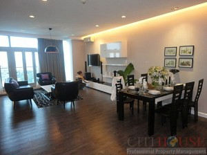 Indochina Apartment for Rent, District 1, 3 bed, 117 sqm, $1200