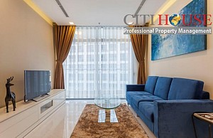 Luxurious two bedrooms apartment for rent in The Park 5 tower in Vinhomes Central Park