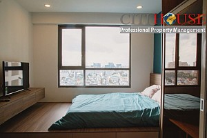 Nice design three bedrooms apartment for rent in The Gold View in D4