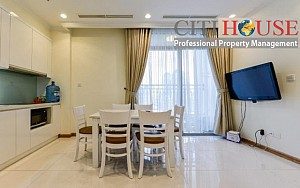 Officetel apartment for rent in Vinhomes Central Park, one bedroom with fully furnished