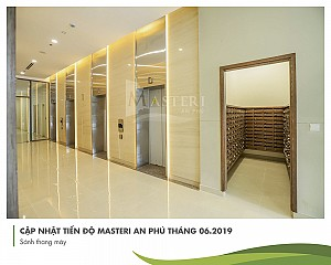 Officetel for rent in Masteri An Phu at cheap price