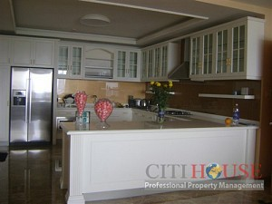 Penthouse Saigon Pearl for rent, 34th floor, city & river view, fully furnished, $6000