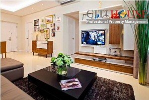 Saigon Pearl apartment for rent, two bedrooms fully furnished in Shaphire 1 Tower