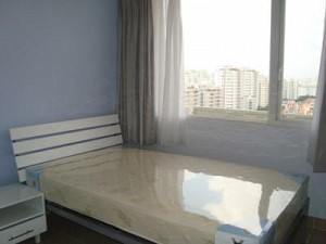 Satra Eximland Plaza apartment for rent, 3 beds, open kitchen, full furniture, $1050