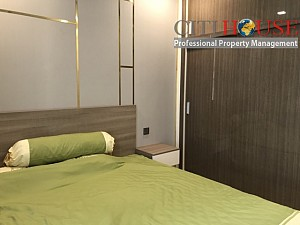 Sparkly view two bedroom apartment for rent in Vinhomes Golden River in District 01