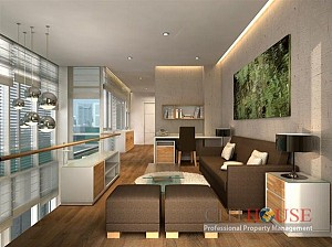 Thao Dien Midpoint Villa for Rent in District 2, Modern decoration, $3000