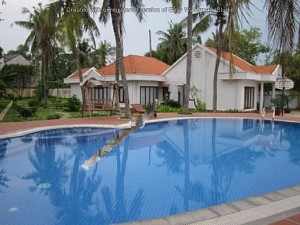 Thao Dien Villa for rent in