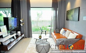 The View Riviera Point two bedrooms apartment for rent with very nice interior design