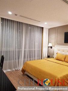 Two bedrooms apartment for rent in The Botanica Pho Quang street