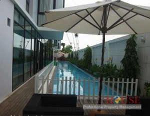 Villa For Rent in Phu My Hung, 5 beds, 450sqm, Swimming pool, $3000