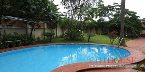 Villa for Rent in Thao Dien Area, 3 storeys, Swimming pool, $5000