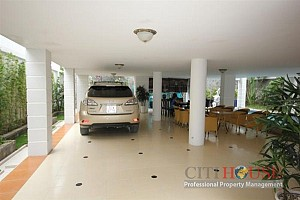 Villa for Rent on Nguyen Van Huong st, Thao Dien Area, District 2, fully furnished, $2100