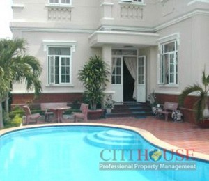 Villa for rent at An Phu Area, District 2, Euroupean design, 300sqm, $3200