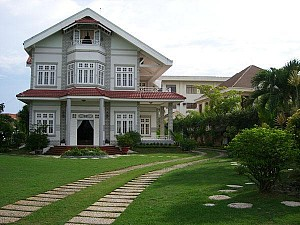 Villa for rent in Thao Dien Area, Modern Design, Nice Pool view, District 2, $2700