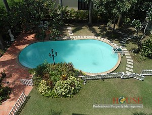 Villa in Thao Dien for rent,