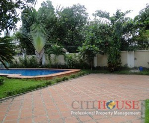 Villa on Le Van Mien Street District 2, 4 beds, 400 sqm, $3000