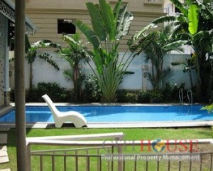 Villa on Nguyen Van Huong street for lease in District 2, 500 sqm, swimming pool, $6000