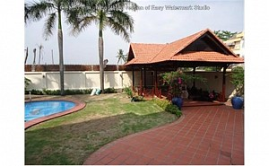 Villa Thao Dien in District 2 for lease, nice swimming pool and garden, $3300