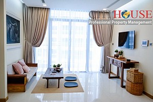 Vinhomes apartment for rent, beautiful two bedrooms with good price