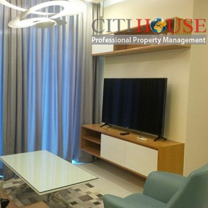 Vinhomes Central Park apartment for rent, smart home, two bedrooms with nice fully furnished