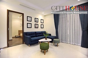 Vinhomes Central Park apartment for rent; very nice design two bedrooms