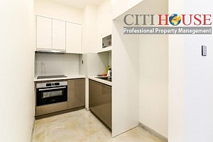 Vinhomes Golden River apartment for rent, unfurnished one bedroom with city view